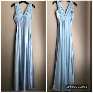Dresses & Skirts - Light Blue Evening Dress in Extra Small - NWOT
